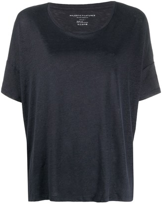 Majestic Filatures loose-fit T-shirt