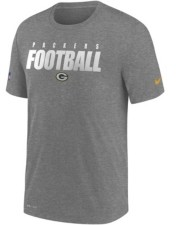 Nike Green Bay Packers Men's Dri-Fit Cotton Football All T-Shirt
