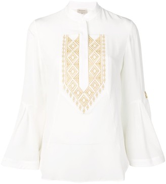 ZEUS + DIONE Delphi embroidered blouse