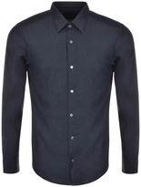 HUGO BOSS Black Reid F Shirt Blue
