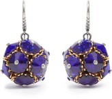 Bottega Veneta Crystal ball earrings