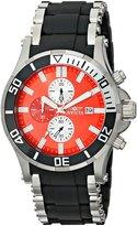 Invicta Men's 80137 Sea Spider Analog Display Japanese Quartz Black Watch