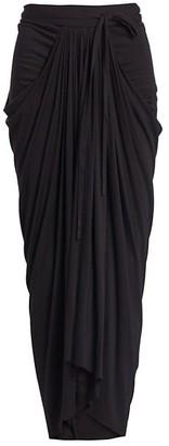 Rick Owens Lilies Long Draped Skirt