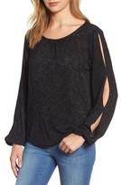 Velvet by Graham & Spencer Women's Slit Sleeve Knit Top