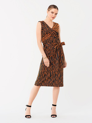 Diane von Furstenberg Rogue Stretch-Jacquard Dress