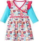 Zutano Tiny Town Dress (Baby)-Multicolor-18 Months