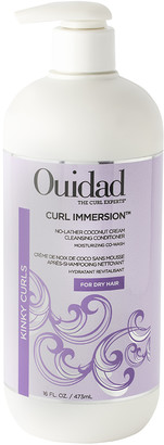 Ouidad Curl Immersion NoLather Coconut Cream Cleansing Conditioner