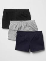 Gap Solid knit shorts (3-pack)