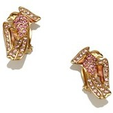 Givenchy Pre-owned: Studded Sparrow Clip-on Earrings.