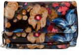 Mundi Blurred Floral Big Fat Checkbook Wallet