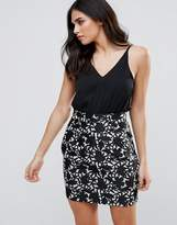 AX Paris Highwaisted Printed Dress