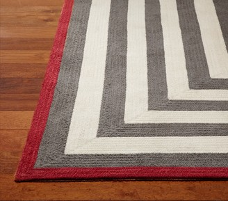 Pottery Barn Kids Custom Capel Spiral Rectangle Rug