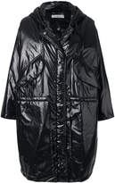 Golden Goose Deluxe Brand metallic zipped coat