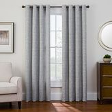 Sharper Image Bradford Grommet Top Snap-In Window Curtain Panel