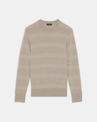 Theory Glennis Crewneck Sweater in Wool-Cashmere