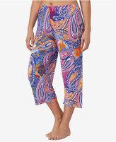 Ellen Tracy Plus Size Cropped Knit Pajama Pants