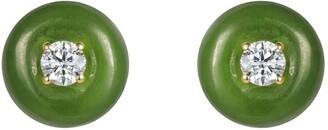 Fernando Jorge Large Orbit Jade Studs