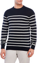 Ben Sherman Stripe Knit Sweater