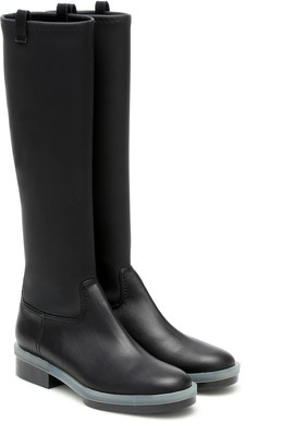 Clergerie Ronky leather knee-high boots
