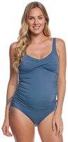 Prego Swimwear Maternity Dot Twist Tankini Set 8158620