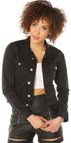 Cheap Monday The Tess Denim Jacket in Washed Black