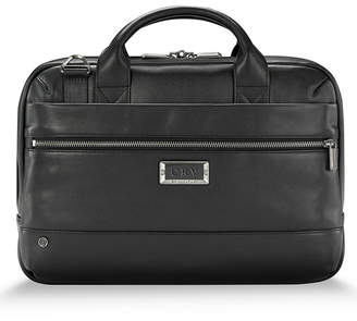 Briggs & Riley @Work Slim Leather Briefcase