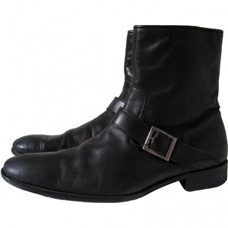 Zadig & Voltaire Black Leather Boots