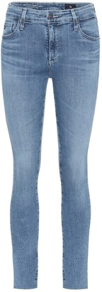 AG Jeans The Farrah mid-rise skinny jeans