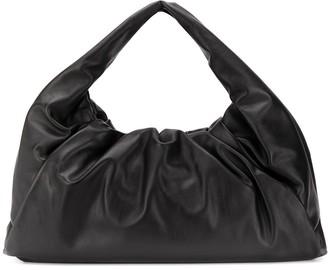 Bottega Veneta leather shoulder pouch