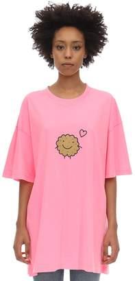 Vetements Set Of 2 Milk & Cookie Cotton T-shirts