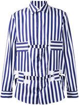 Marni long sleeve cutout shirt - men - Cotton - 44