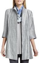 Eileen Fisher Washable Crinkle Sheen Jacket, Plus Size