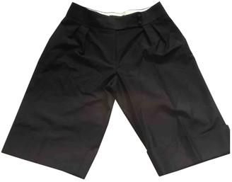 Nicole Farhi Black Wool Shorts for Women