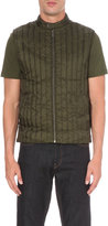Michael Kors Quilted Crepe Gilet