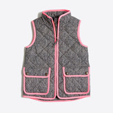 J.Crew Factory Girls' printed puffer vest