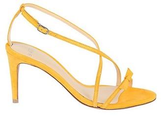 Alexandre Birman Anastassia Suede Bow-Strap Sandals