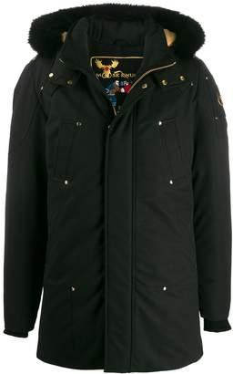 Moose Knuckles Stirling padded parka coat