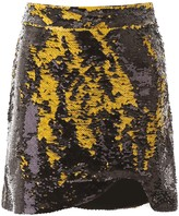 Thumbnail for your product : Ganni Sequins Mini Skirt