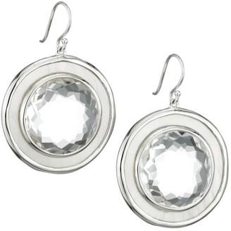 Ippolita Ondine Sterling Silver, Mother-Of-Pearl & Clear Quartz Drop Earrings