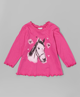 Flap Happy Hot Pink Riding Rosie Tee - Infant, Toddler & Girls