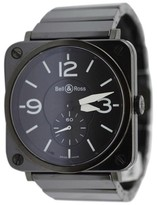 Bell & Ross BRS-98 Black Ceramic Bracelet Womens Watch