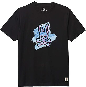 Psycho Bunny Kids Tonbridge Graphic Tee (Toddler/Little Kids/Big Kids) (Black) Boy's Clothing