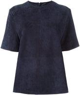 Joseph panelled blouse - women - Lamb Skin - 36