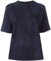Joseph panelled blouse - women - Lamb Skin - 40