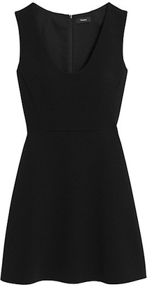Theory Fit & Flare Dress