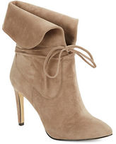 424 Fifth Tallis Suede Lace-Up Booties