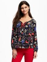 Old Navy Lightweight Swing Blouse for Women
