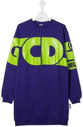 Gcds Kids Logo-Print Sweatshirt