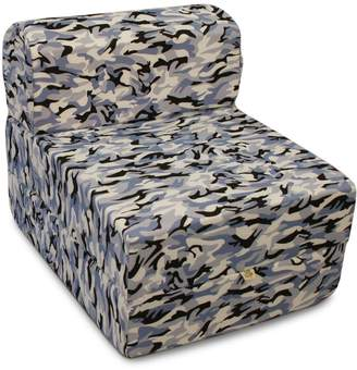 Comfy Kids Kid's Camouflage Convertible Flip Chair