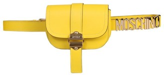 Moschino Logo Plaque Belt Bag